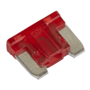 Sealey Automotive MICRO Blade Fuse 10A - Pack of 50 Model No.-MIBF10
