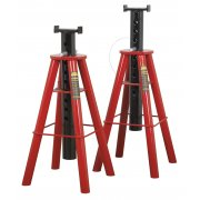 Sealey Axle Stands 10tonne Capacity per Stand 20tonne per Pair High Lift Model No-AS10H