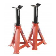 Sealey Axle Stands 12tonne Capacity per Stand 24tonne per Pair Model No-AS12000