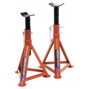 Sealey Axle Stands 2.5tonne Capacity per Stand 5tonne per Pair Model No-AS2500