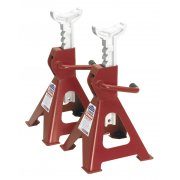 Sealey Axle Stands 2tonne Capacity per Stand 4tonne per Pair Ratchet Type Model No-VS2002