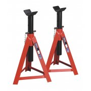 Sealey Axle Stands 5tonne Capacity per Stand 10tonne per Pair Medium Height Model No-AS5000M