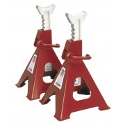 Sealey Axle Stands 6tonne Capacity per Stand 12tonne per Pair Ratchet Type Model No-VS2006