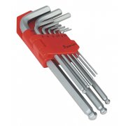 Sealey Ball-End Hex Key Set 9pc Long Metric Model No-AK7139