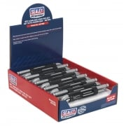Sealey Ball-End Hex Key Set with Power Bar 8pc Long Display Box of 10 Model No- AK7185