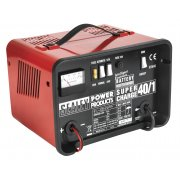 Sealey Battery Charger Low Maintenance 18Amp 12/24V 230V Model No-SUPERCHARGE40/1