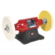 Sealey Bench Mounting Buffer/Polisher 200mm 550W/230V Model No- BB2002