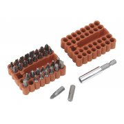Sealey Bit & Magnetic Adaptor Set 33pc Model No-AK110