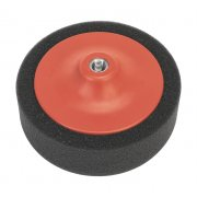 Sealey Buffing & Polishing Foam Head 150 x 50mm M14 x 2mm Black/Soft Model No-PTC/CH/M14-P