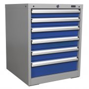 Sealey Cabinet Industrial 6 Drawer Model No-API5656