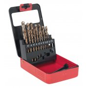 Sealey Cobalt Drill Bit Set 19pc Metric Model No-AK4701