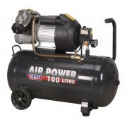 Sealey Compressor 100ltr V-Twin Direct Drive 3hp Model No-SAC10030VE