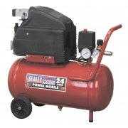 Sealey Compressor 24ltr Direct Drive 1.5hp Model No-SA2415