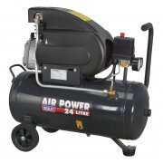 Sealey Compressor 24ltr Direct Drive 2hp Model No-SAC2420E