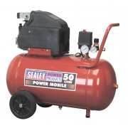 Sealey Compressor 50ltr Direct Drive 2hp Model No-SA5020
