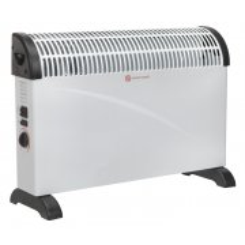 Sealey Convector Heater 2000W 3 Heat Settings Thermostat Turbo Fan Model No-CD2005T
