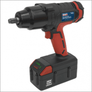 "Sealey Cordless Impact Wrench 26V Lithium-ion 1/2""Sq Drive 680Nm Model No-CP2612"