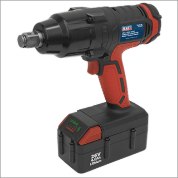 "Sealey Cordless Impact Wrench 26V Lithium-ion 3/4""Sq Drive 816Nm Model No-CP2634"