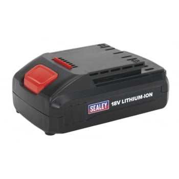 Sealey Cordless Power Tool Battery 18V 1.3Ah Lithium-ion for CP2518L Model No- 22184
