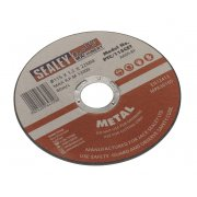 Sealey Cutting Disc 115 x 1.2mm 22mm Bore Model No-PTC/115CET