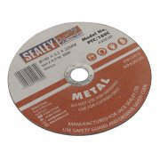 Sealey Cutting Disc 180 x 3mm 22mm Bore Model No-PTC/180C
