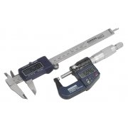 Sealey Digital Measuring Set 2pc Model No-AK9637D