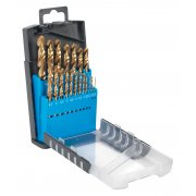 Sealey Drill Bit Set 19pc Titanium Coated Metric Model No-AK4719