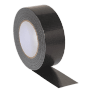 Duct Tape 48mm x 50mtr Black : Model No.DTB