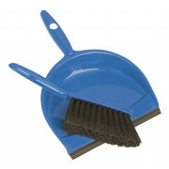 Sealey Dustpan & Brush Set Composite Model No-BM04