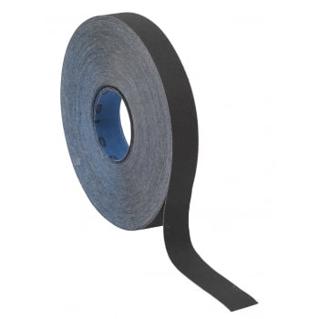 Sealey Emery Roll Blue Twill 25mm x 25mtr 150Grit : Model No.ER2525150