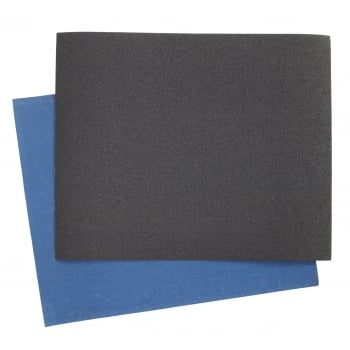 Sealey Emery Sheet Blue Twill 230 x 280mm 120Grit Pack of 25 : Model No.ES2328120