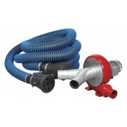 Sealey Exhaust Fume Extraction System 230V - 370W - Twin Duct Model No-EFS102