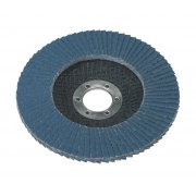 Sealey Flap Disc Zirconium 125mm 22mm Bore 80Grit Model No-FD12580