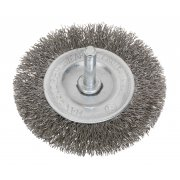 Sealey Flat Wire Brush Stainless Steel 75mm with 6mm Shaft Model No-20445