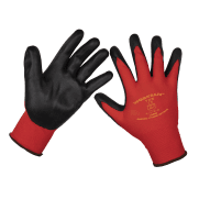 Flexi Grip Nitrile Palm Gloves (Large) - Pack of 120 Pairs Model No-9125L/B120