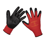 Flexi Grip Nitrile Palm Gloves (Large) - Pair Model No-9125L