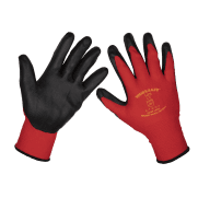 Flexi Grip Nitrile Palm Gloves (X-Large) - Pack of 12 Pairs Model No-9125XL/12