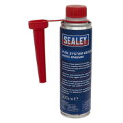 Sealey Fuel System Cleaner 300ml - Diesel Engines Model No.-FSCD300