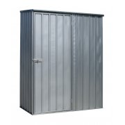 Sealey Galvanized Steel Shed 1.5 x 0.8 x 1.9mtr Model No-GSS1508