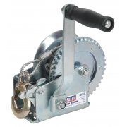 Sealey Geared Hand Winch 540kg Capacity with Cable Model No-GWC1200M