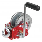 Sealey Geared Hand Winch with Brake & Cable 540kg Capacity Model No-GWC1200B