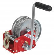 Sealey Geared Hand Winch with Brake & Cable 900kg Capacity Model No-GWC2000B