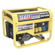 Sealey Generator 6000W 110/230V 13hp Model No-GG7500