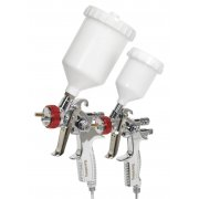 Sealey Gravity Feed HVLP Top Coat/Touch-Up Spray Gun Set Model No-HVLP774