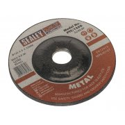 Sealey Grinding Disc 125 x 6mm 22mm Bore Model No-PTC/125G