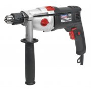 Sealey Hammer Drill 13mm 2 Mechanical/Variable Speed 1050W/230V Model No-SD1000
