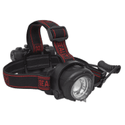 Sealey Head Torch 5W CREE XPG LED Rechargeable with Adjustable Focus & Brightness Model No-HT107R