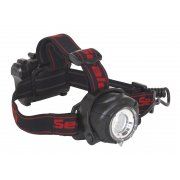 Sealey Head Torch 5W CREE XPG LED with Adjustable Focus & Brightness 3 x AA Cell Model No-20296