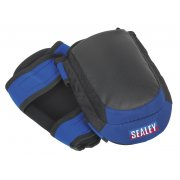 Sealey Heavy-Duty Double Gel Knee Pads - Pair Model No-SSP63