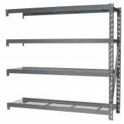 Sealey Heavy-Duty Racking Extension Pack with 4 Mesh Shelves 800kg Capacity Per Level Model No-AP6572E